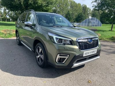 Subaru Forester 2.0i e-Boxer XE Premium 5dr Lineartronic Estate Hybrid Green at Adams Brothers Subaru Aylesbury