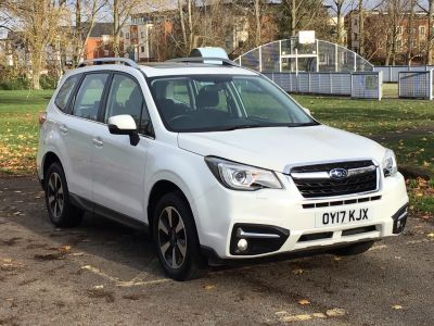 Subaru Forester 2.0D XC 5dr Lineartronic Estate Diesel White at Adams Brothers Subaru Aylesbury
