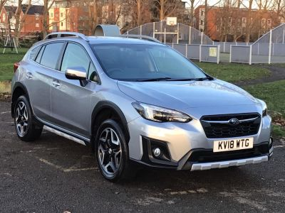 Subaru XV 2.0i SE 5dr Lineartronic Hatchback Petrol Silver at Adams Brothers Subaru Aylesbury