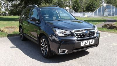 Subaru Forester 2.0 XT 5dr Lineartronic Estate Petrol Grey at Adams Brothers Subaru Aylesbury